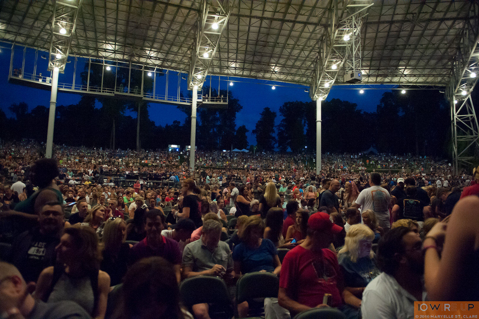 Train. Verizon Wireless Amphitheatre, Atlanta (Alpharetta) GA. 13 Aug 2016.