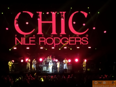Chic - Philips Arena, Atlanta, GA, 15 Apr 2016