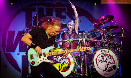 The Winery Dogs at The Playstation theater, New York City, 10 Oct 2015