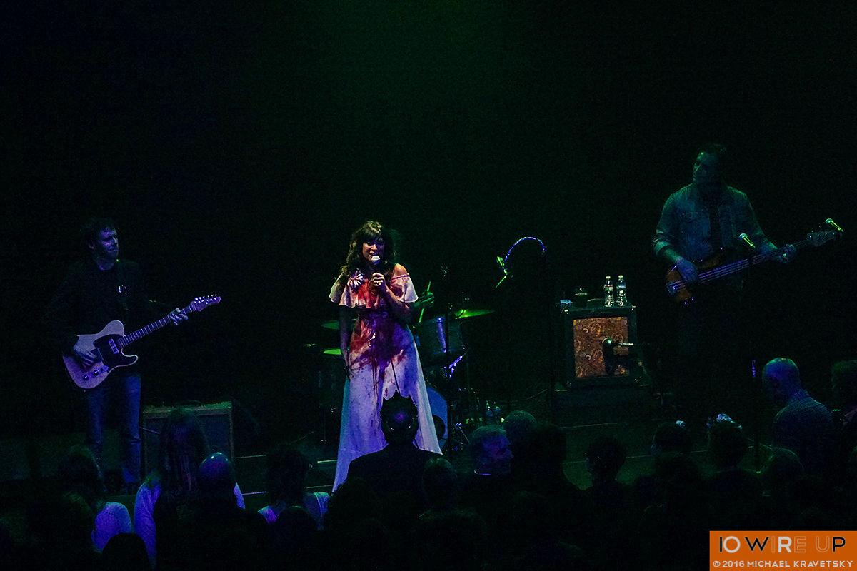 Nicole Atkins and Wolf! Asbury Park NJ, 10/28/16