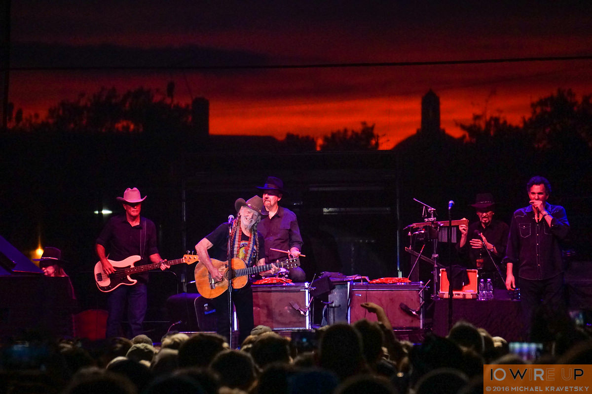 2 September 2016: Willie Nelson and Family Band at the Stone Pony Summer Stage, Asbury Park, NJ. Photographed by Michael Kravetsky for 10 Wire Up, http://10wireup.com. Photo credit: Michael Kravetsky for 10 Wire UP.
