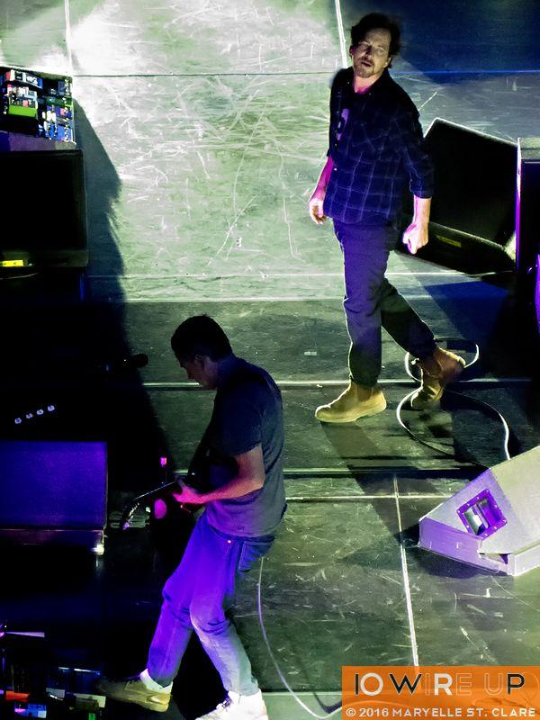 Pearl Jam at Columbia, SC, 16 Apr 2016