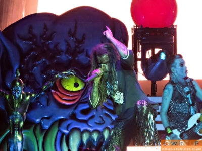 Rob Zombie and Piggy D. at Lakewood Amphitheatre, Atlanta, 6 May 2016