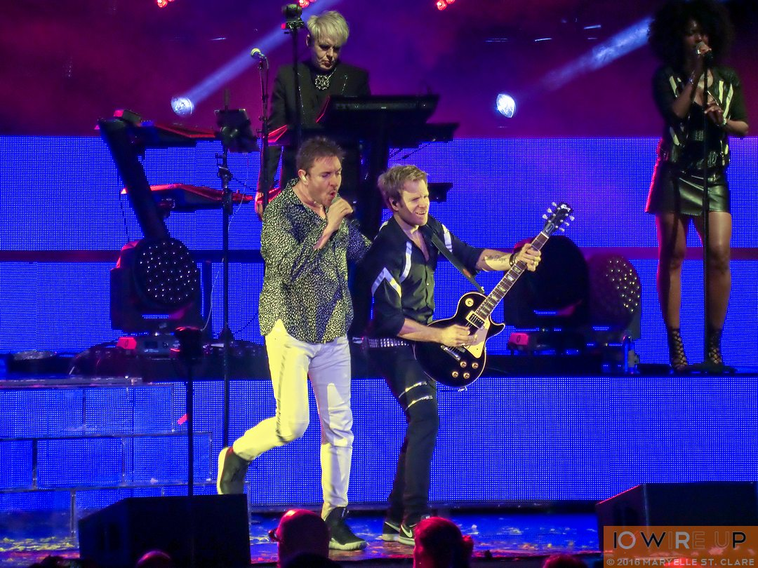 Duran Duran - Philips Arena, Atlanta, GA, 15 Apr 2016