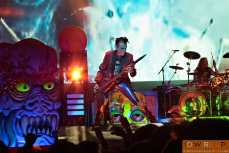 Piggy D. of Rob Zombie at Lakewood Amphitheatre, Atlanta, 6 May 2016