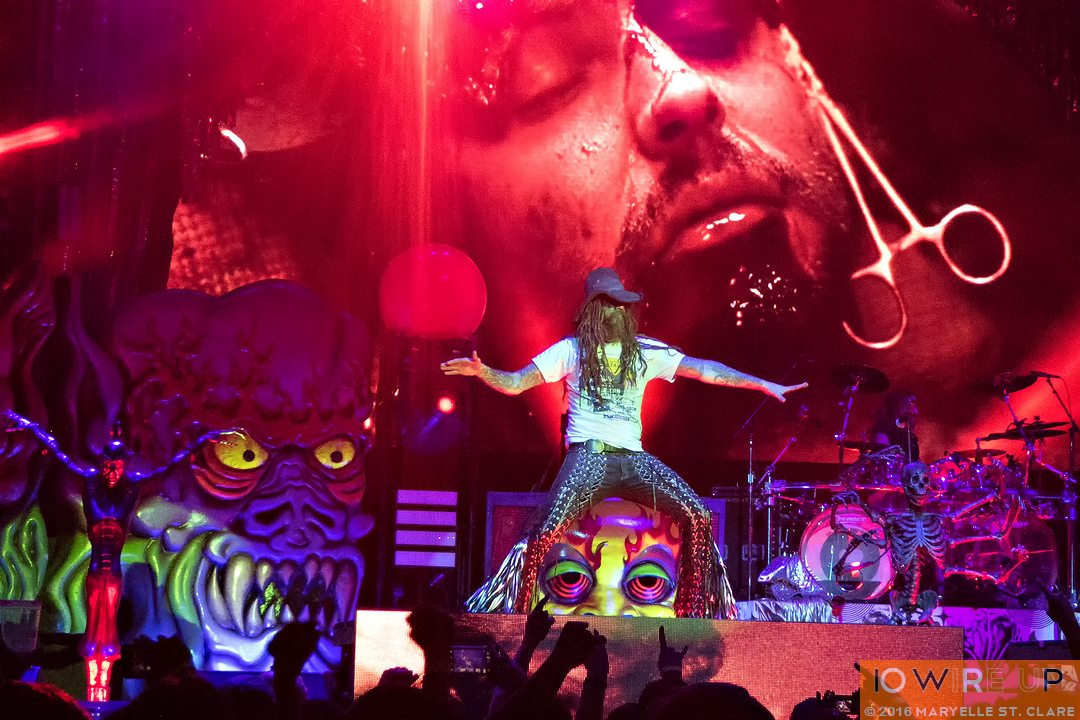 06 May 2016: Rob Zombie at Lakewood Amphitheatre, Atlanta, GA. Photo: Maryelle St. Clare.