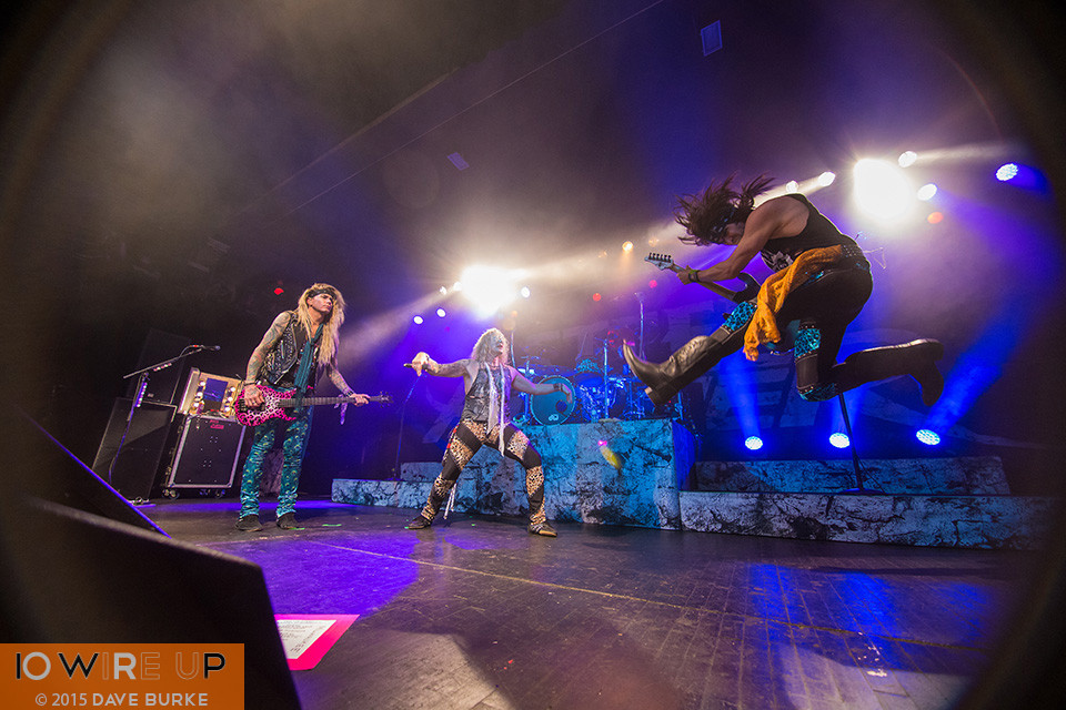 28 May 2015 - The Rave, Milwaukee WI. Steel Panther. Photo Credit: Dave Burke for 10 Wire Up, http://10wireup.com.