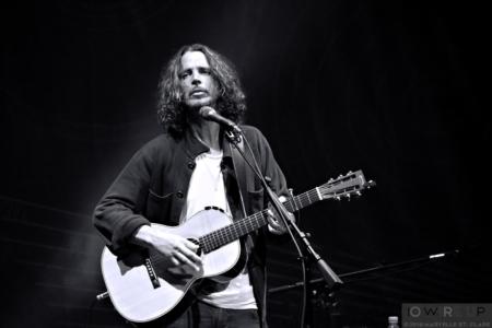 Chris Cornell at Charlotte, NC. 20 June 2016.