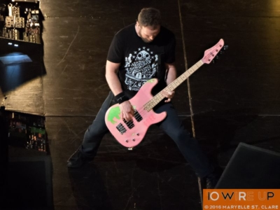 Jeff Ament - Pearl Jam at Columbia, SC, 16 Apr 2016