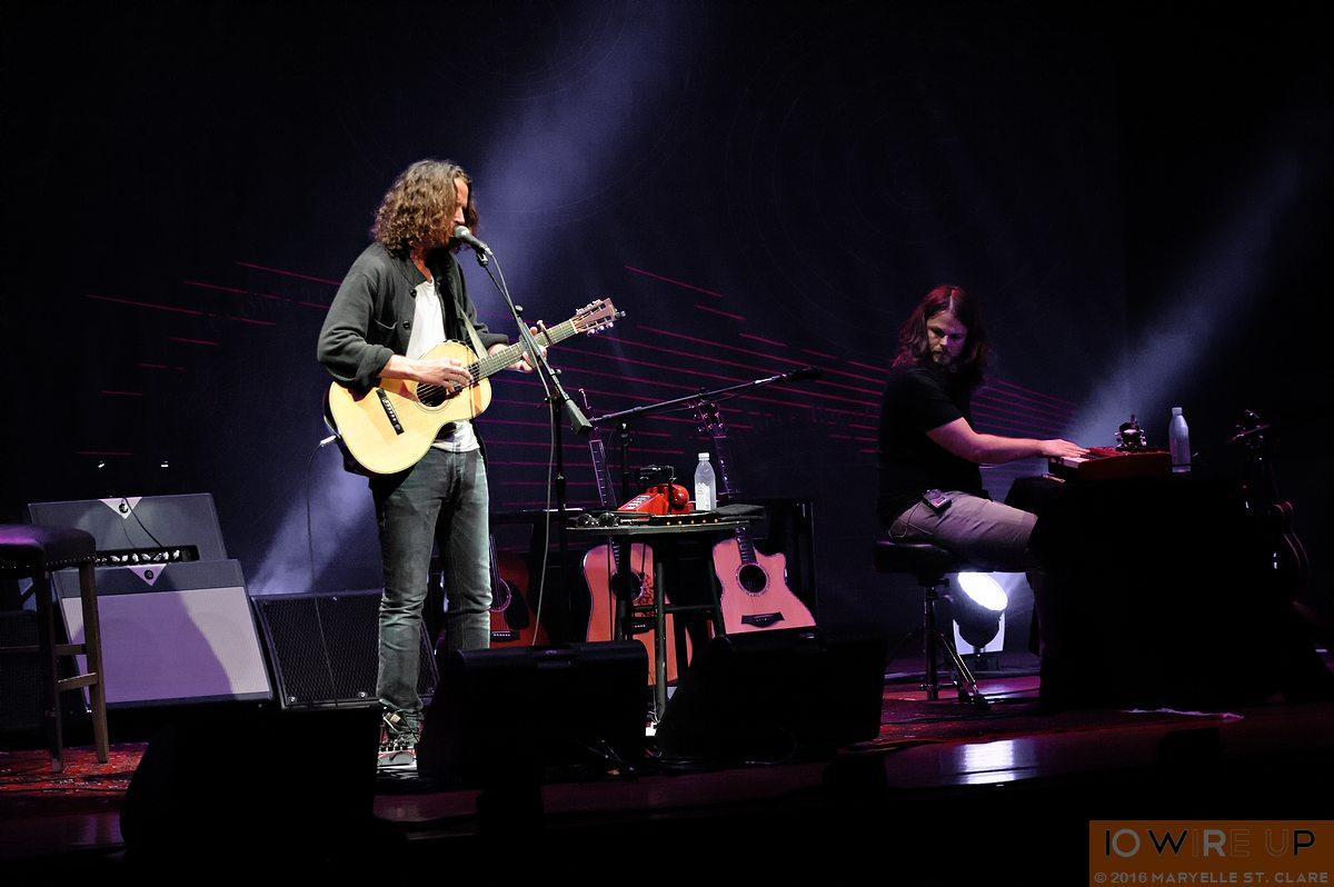 Chris Cornell at Charleston, NC. 20 June 2016.