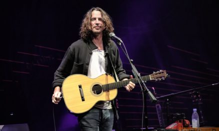 Chris Cornell at Charleston, NC. 20 June 2016.