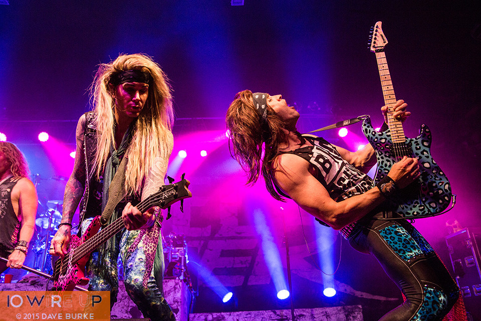 Steel Panther at The Rave, Milwaukee, 5/28/15