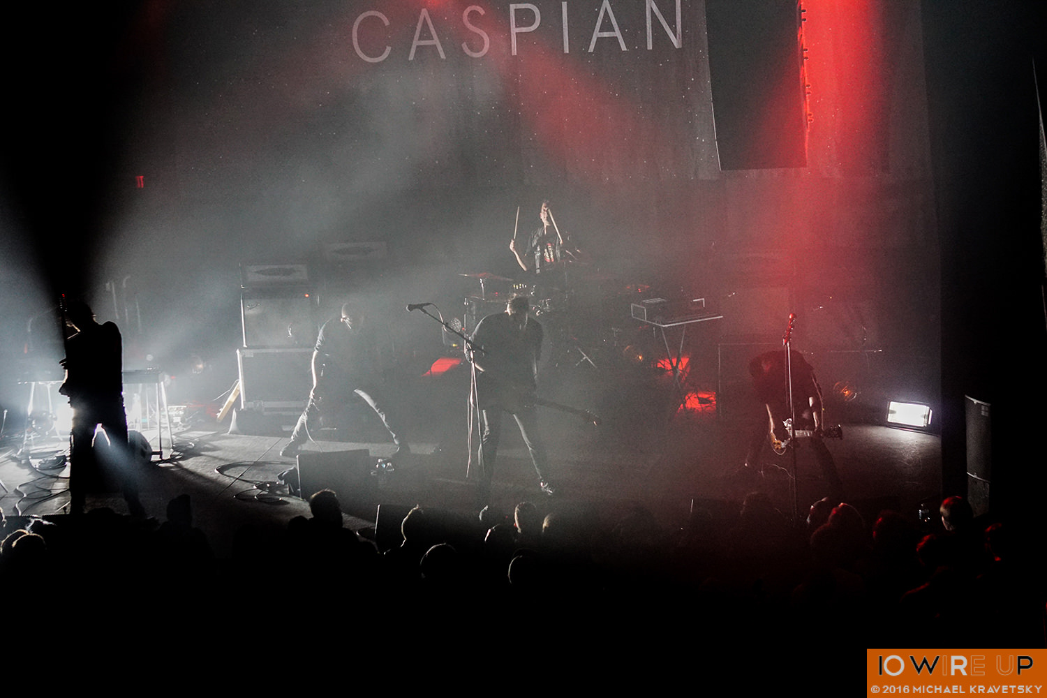 Caspian at the Union Transfer, Philadelphia, 11/16/16