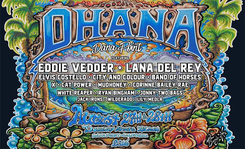 Ohana Festival poster 2016