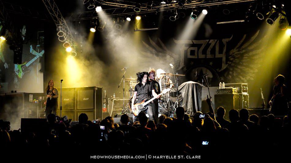 Fozzy - at Wild Bill's - Duluth, GA - 23 May 2014