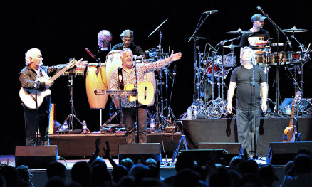 The Gipsy Kings at Chastain Park Ampitheater, Atlanta GA, 15 August 2014.