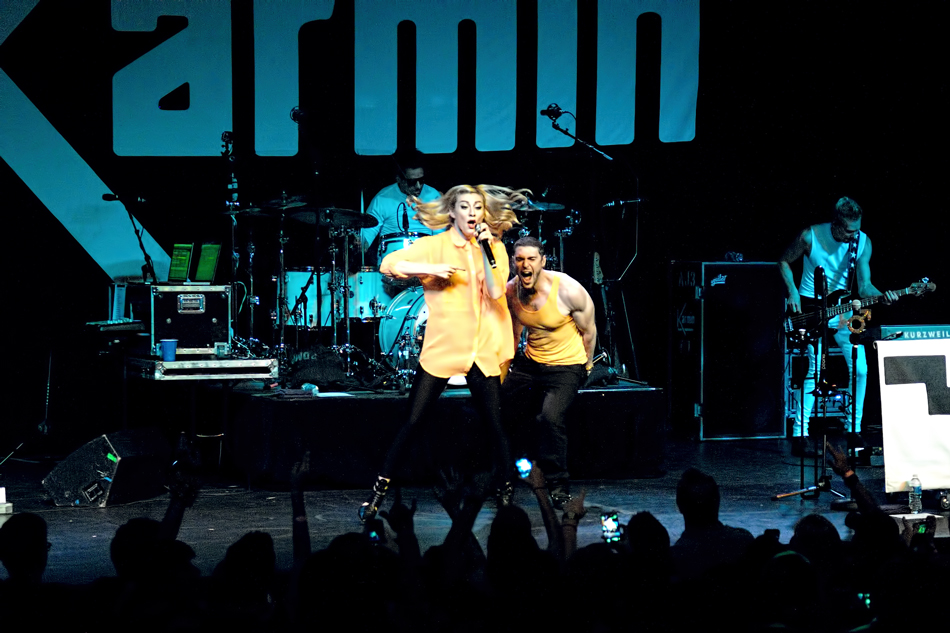 Karmin, Center Stage Atlanta GA, 12 Apr 2014
