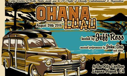 Ohana Festival 2016 luau poster