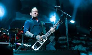 Michael Poulson of Volbeat, Duluth GA, 11 Oct 2014