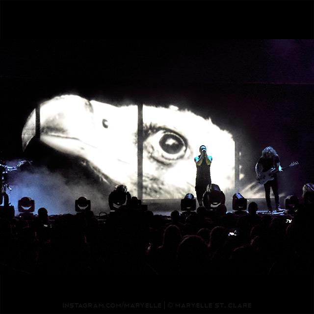 Trent Reznor, Ilan Rubin, NIne Inch Nails, Charlotte NC, 7 Aug 2014