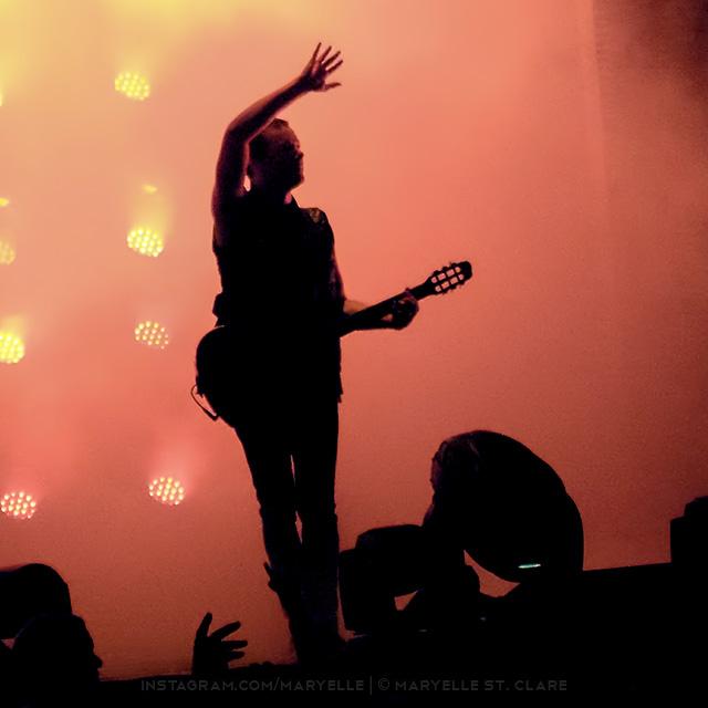 Robin Finck, NIne Inch Nails, Charlotte NC, 7 Aug 2014