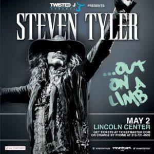 """Steven Tyler """"Out on a Limb"""""""