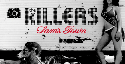 The Killers - Sam's Town album cover